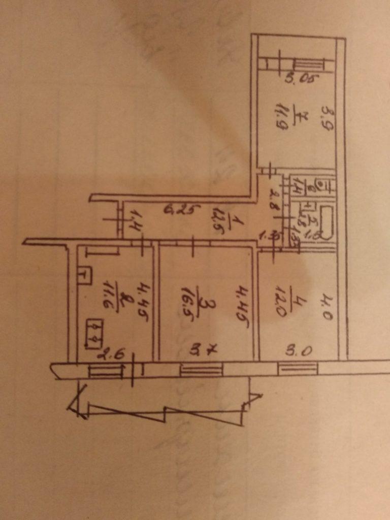 Продам квартиру г.Одесса Приморский район ул.Фонтанская Дорога – 3 х комнатная