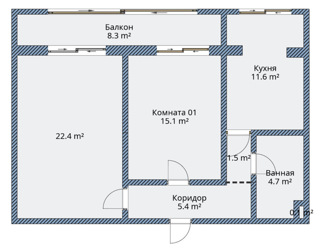 Продам квартиру г.Киев Шевченковский район – 2 х комнатная